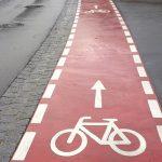 bisiklet yolu çizgisi