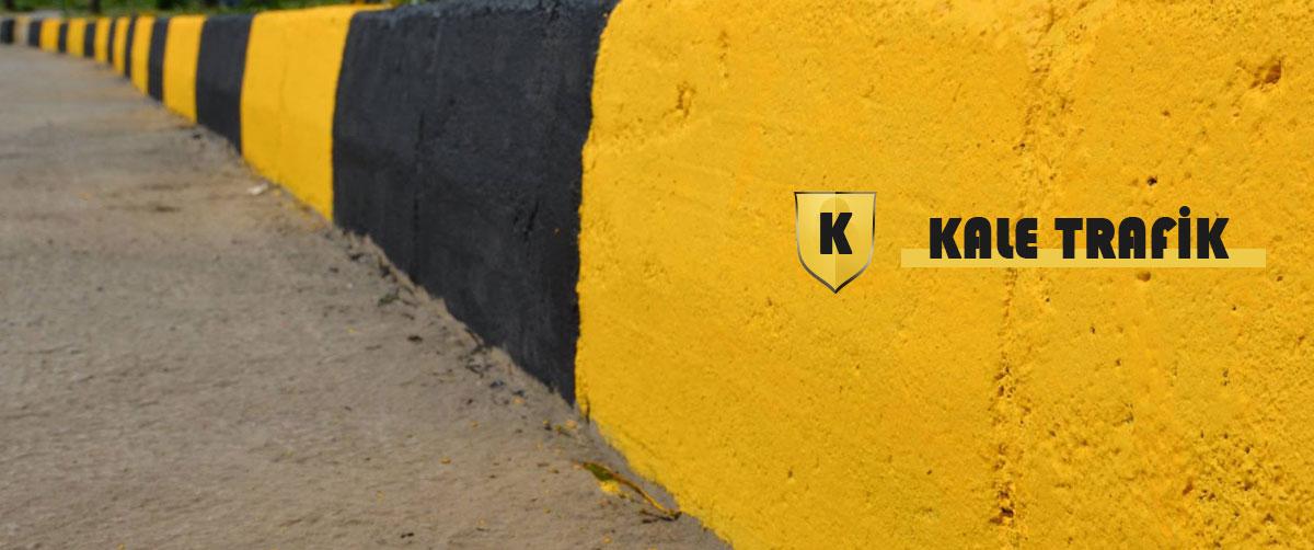 kale trafik bordür boyama